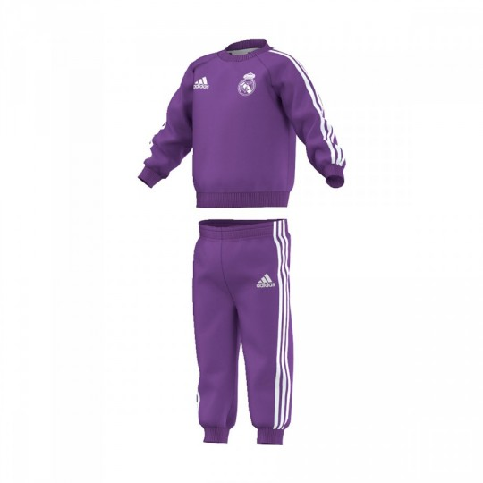 Chándal  adidas jr Real Madrid Away 2016-2017 Bebé Ray purple-Crystal white