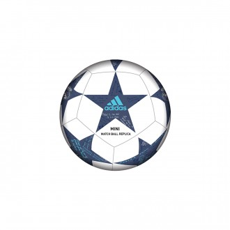 Bola de Futebol  adidas Finale 16 Real Madrid mini White-Super purple