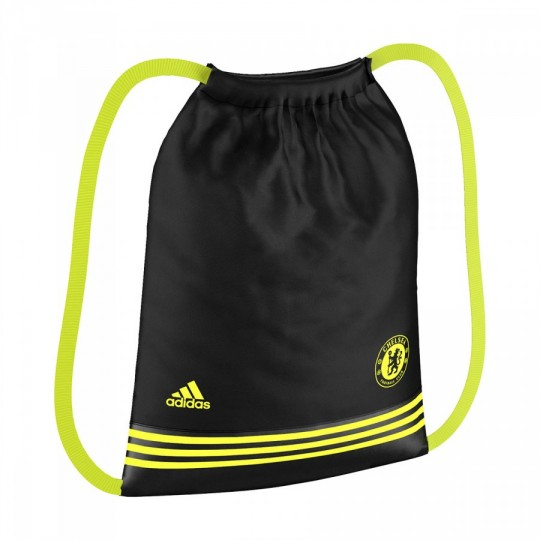 Bolsa  adidas Gymsack Chelsea FC Black-Solar yellow
