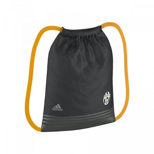 Saco  adidas Gymsack Juventus 2016-2017 Dark grey-Collegiate gold