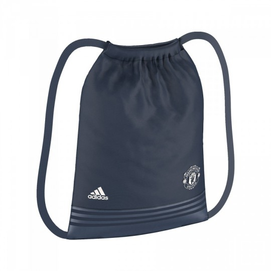 Saco  adidas Gymsack Manchester United 2016-2017 Mineral blue-Chalk white