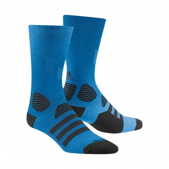 Calcetines  adidas Messi Black-Shock blue
