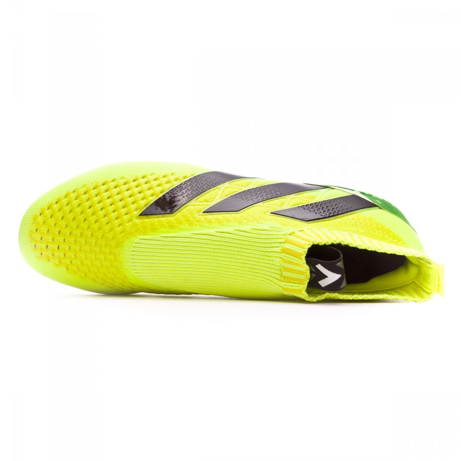 Puede soportar Alegre Consulta  Football Boots adidas Ace 16+ Purecontrol Solar yellow-Silver metallic -  Football store Fútbol Emotion