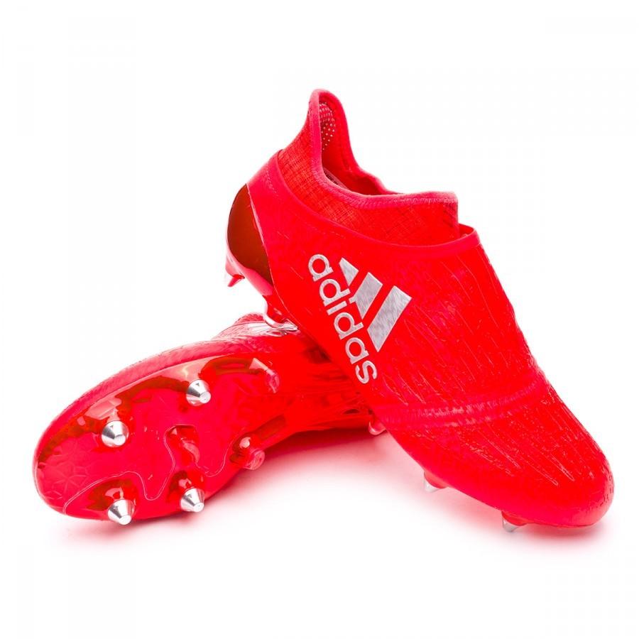 Boot adidas X 16 Purechaos SG/FG Solar red-Silver metallic - Soloporteros es ahora Fútbol Emotion