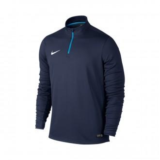 Sudadera  Nike Academy Midlayer Midnight navy-Photo blue-White