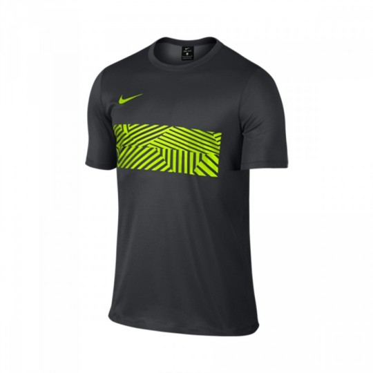 Maillot  Nike Dry Academy Football Anthracite-Volt