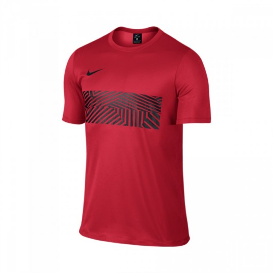 Maillot  Nike Dry Academy Football University red-Black