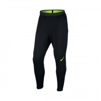Calças  Nike Strike Football Black-Volt