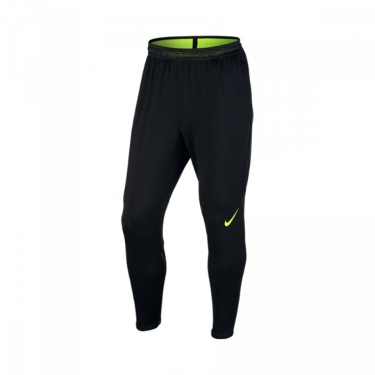 Calças  Nike Strike Football Black-Volt