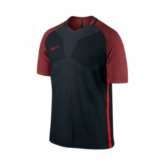 Camisola  Nike Aeroswift Strike Football Black-University red