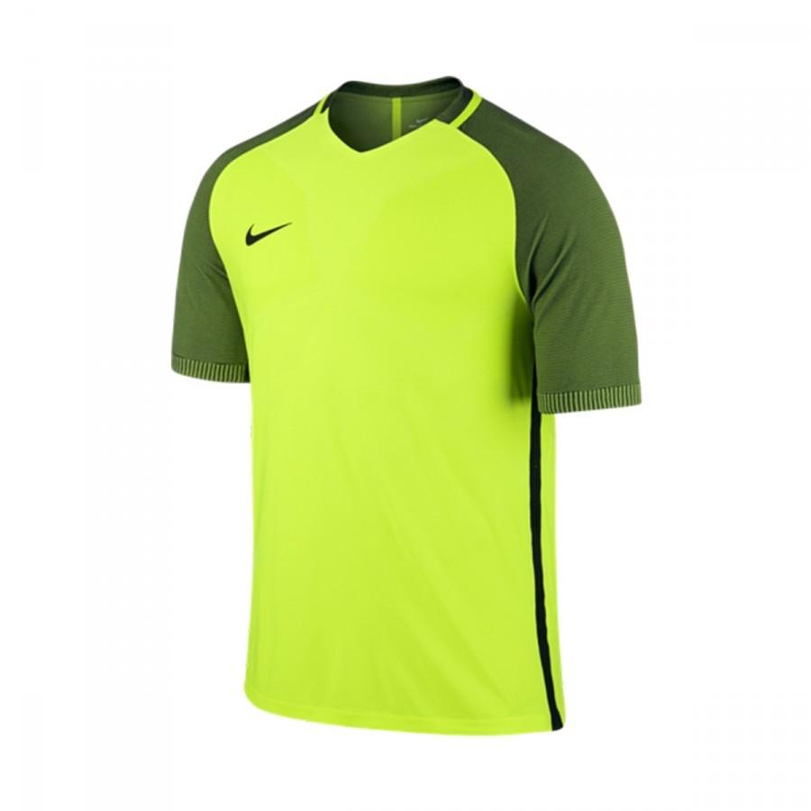114617636a5 Jersey Nike Aeroswift Strike Football Volt-Black - Tienda de fútbol Fútbol  Emotion