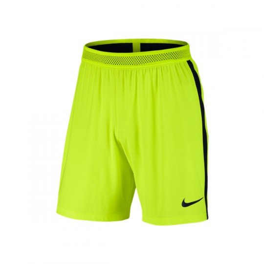 Calções  Nike Aeroswift Strike Football Volt-Black