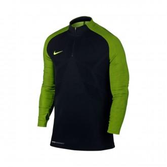 Camiseta  Nike Strike Football Drill Top Black-Volt