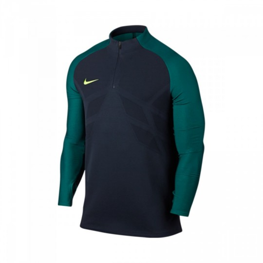 Camisola  Nike Strike Football Drill Top Obsidian-Rio teal