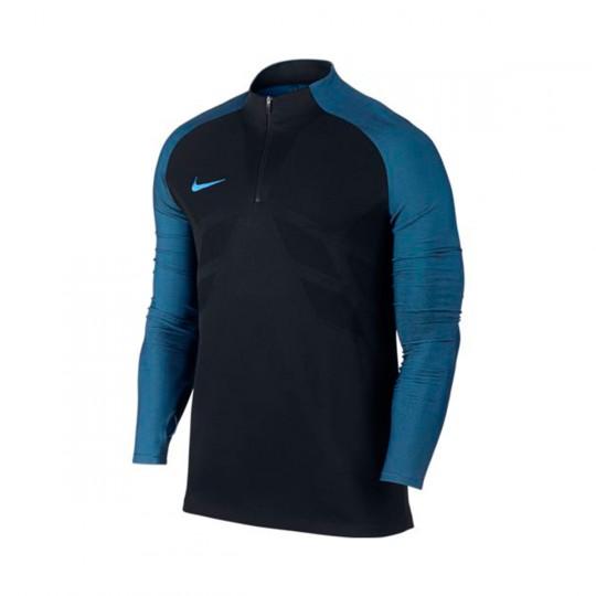 Camiseta  Nike Aeroswift Strike Football Black-Photo blue
