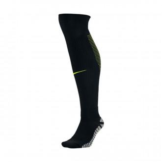 Meias  Nike Grip Stroke OTC Black-Volt