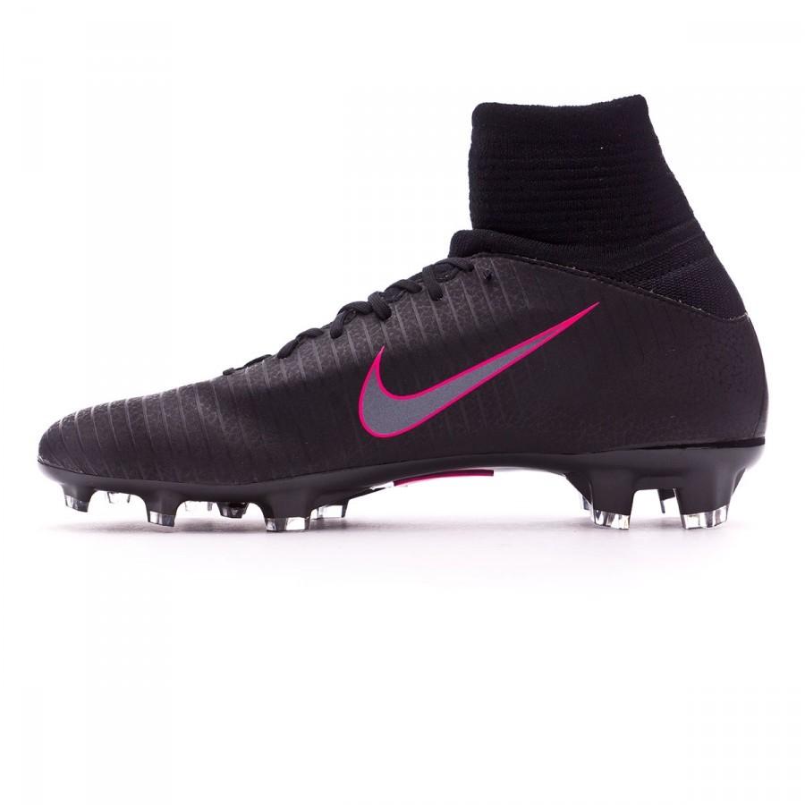 59def83f243 Football Boots Nike Jr Mercurial Superfly V ACC FG Black-Pink blast -  Football store Fútbol Emotion
