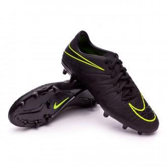 Bota  Nike HyperVenom Phelon II FG Black-Volt