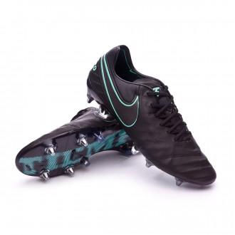 Chuteira  Nike Tiempo Legend VI ACC SG-Pro Black-Hyper turquoise