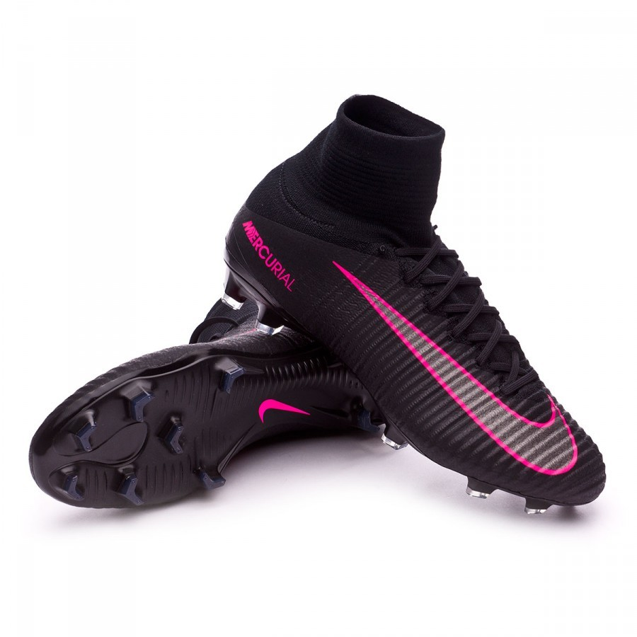 d43407d17 Nike Mercurial Superfly V ACC FG Football Boots. Black-Pink blast ...