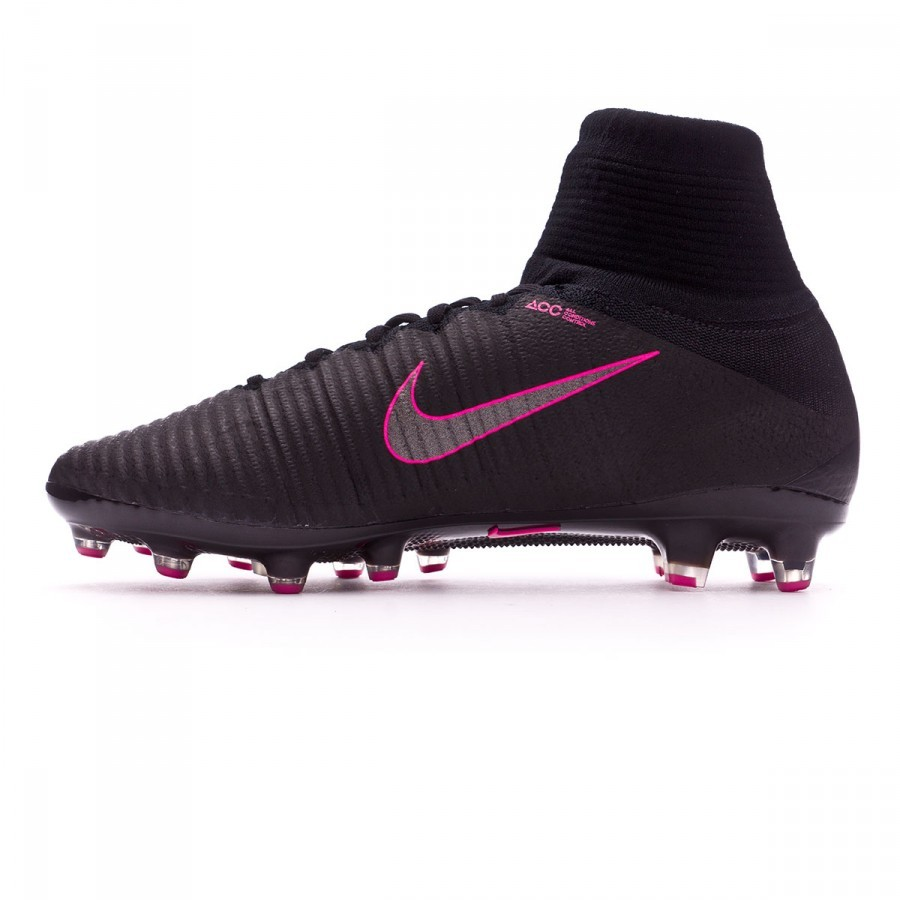 the latest ea031 ee672 Boot Nike Mercurial Superfly V ACC AG-Pro Black-Pink blast - Football store  Fútbol Emotion