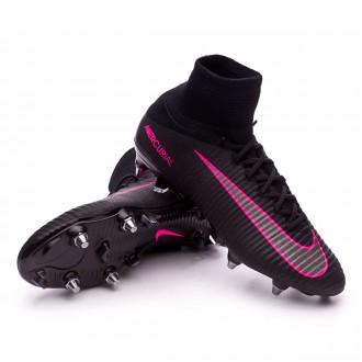 Chuteira  Nike Mercurial Superfly V ACC SG-Pro Black-Pink blast