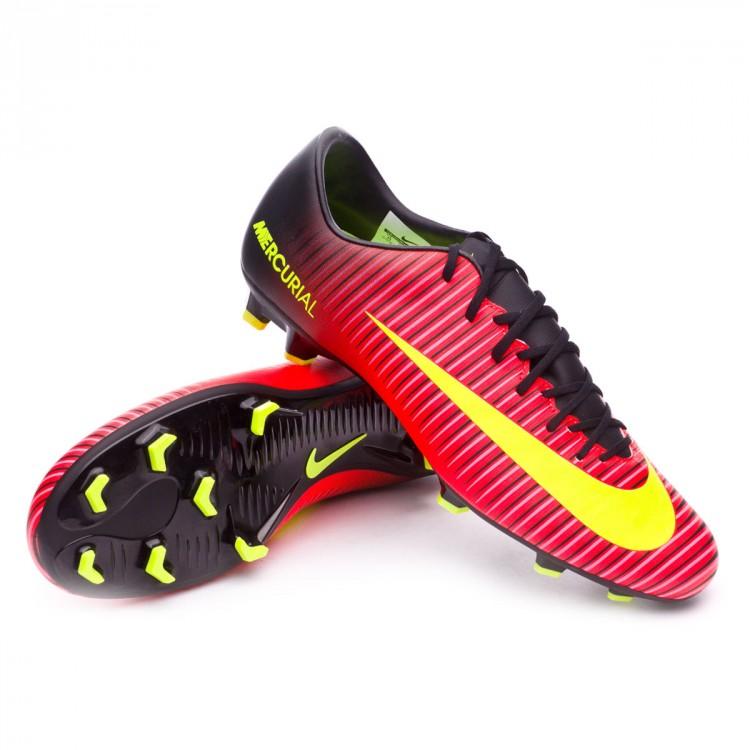 b1c71a52dcdba Football Boots Nike Mercurial Victory VI FG Total crimson-Volt-Black ...