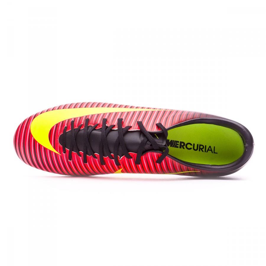 60cd5eeb1e39d Football Boots Nike Mercurial Victory VI FG Total crimson-Volt-Black-Pink  blast - Tienda de fútbol Fútbol Emotion