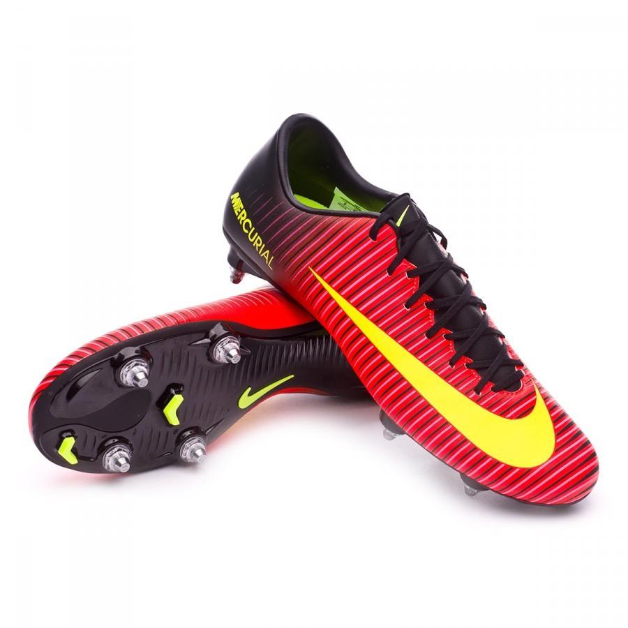 ef51d234cc99b Chuteira Nike Mercurial Victory VI SG Total crimson-Volt-Black-Pink blast -  Loja de futebol Fútbol Emotion