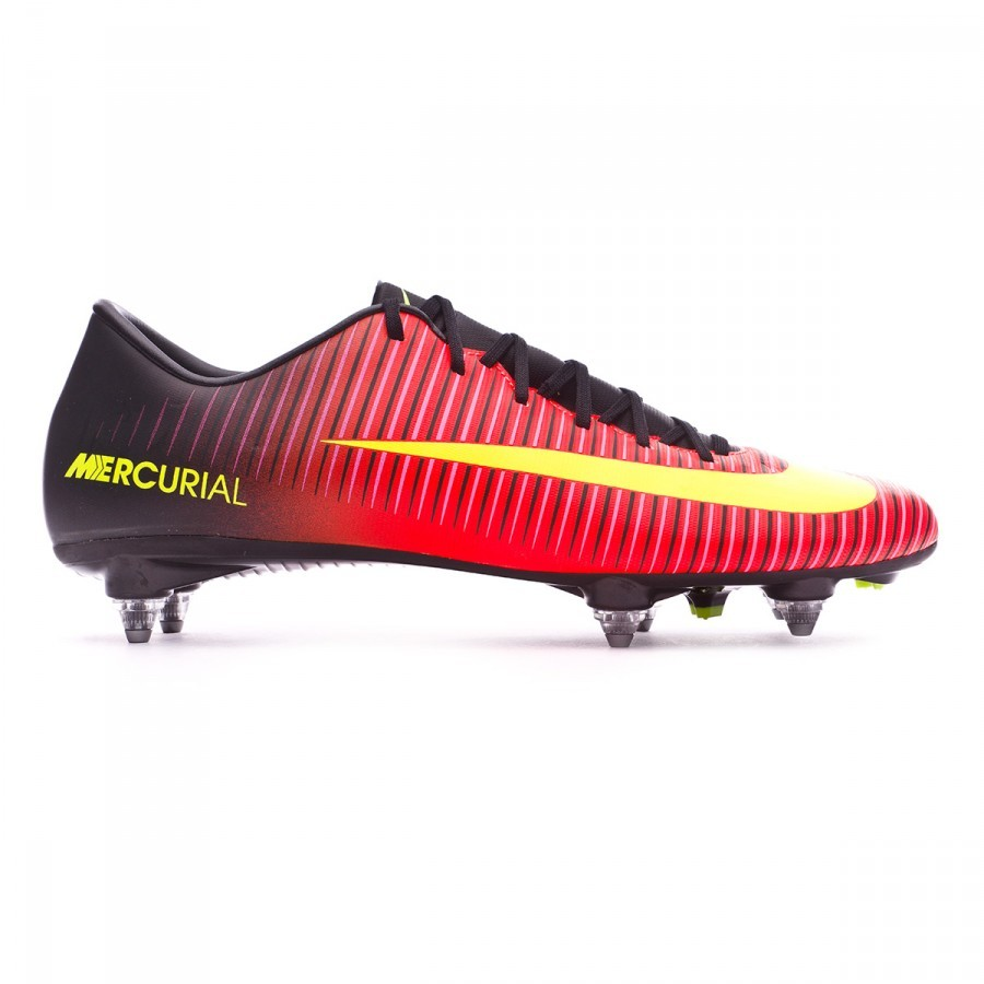 42d82477a Football Boots Nike Mercurial Victory VI SG Total crimson-Volt-Black-Pink  blast - Football store Fútbol Emotion