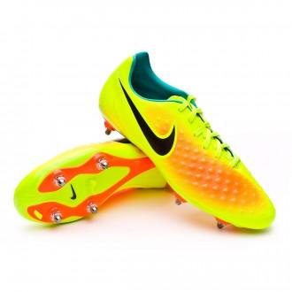 Bota  Nike Magista Onda II SG Volt-Black-Total orange-Clear jade