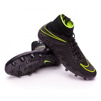 Bota  Nike Hypervenom Phantom II AG-Pro Black-Volt