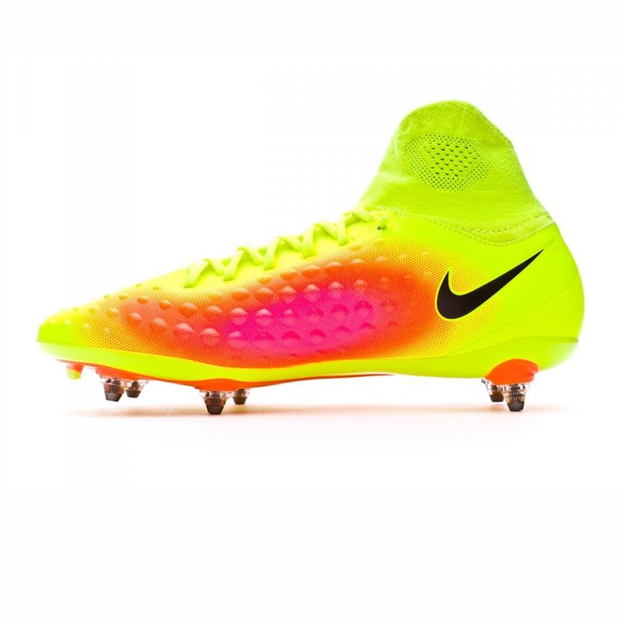 fb926c1b6 Football Boots Nike Magista Orden II DF SG Volt-Black-Total orange-Hyper  turquoise - Football store Fútbol Emotion