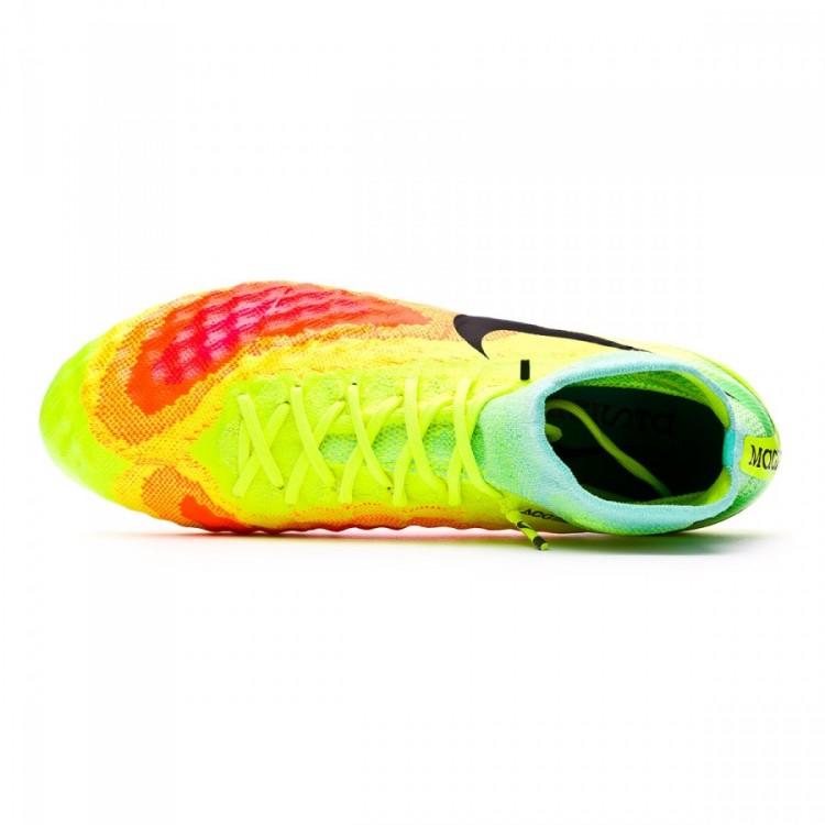 f8f484ba6 Football Boots Nike Magista Obra II ACC SG-Pro Volt-Black-Total ...