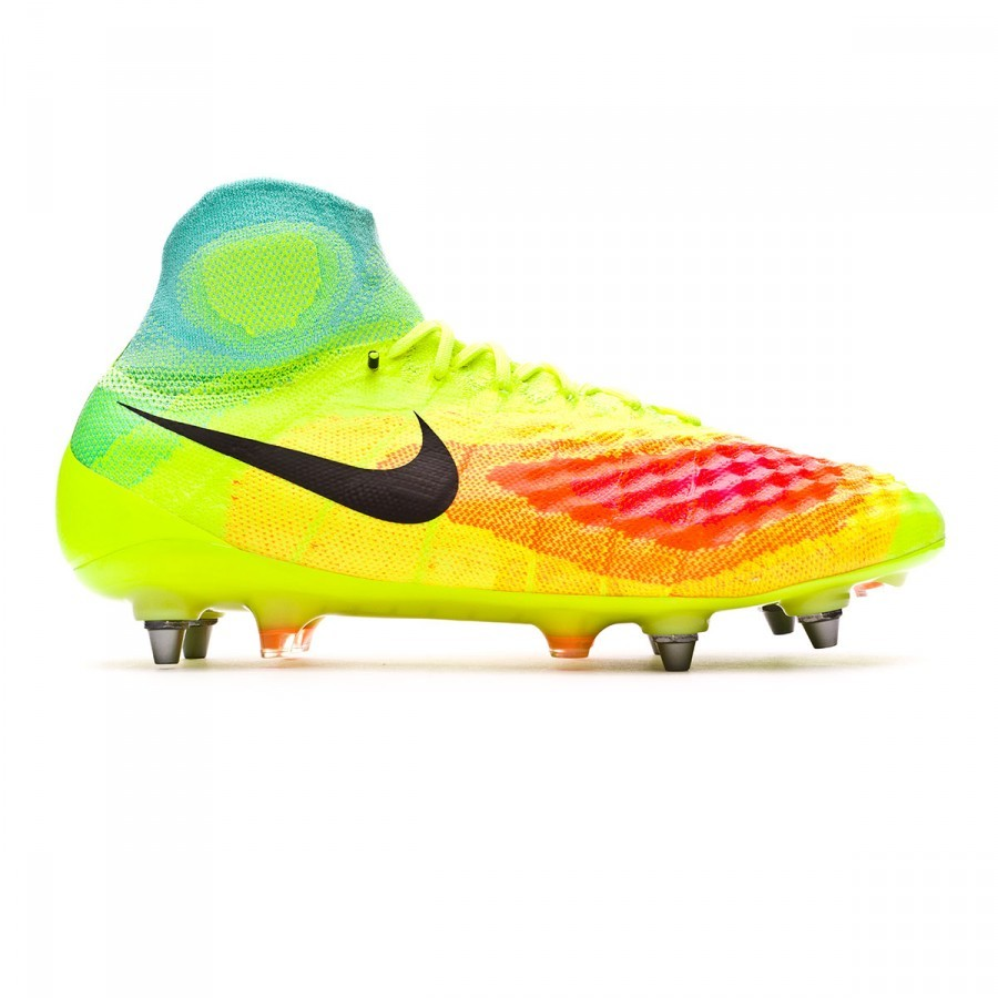 best website 80b33 dad37 Boot Nike Magista Obra II ACC SG-Pro Volt-Black-Total orange-Pink blast -  Football store Fútbol Emotion