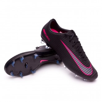 Bota  Nike Mercurial Veloce III FG Black-Pink Blast