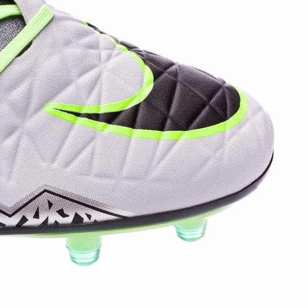 los angeles db0be 8f91d Boot Nike HyperVenom Phatal II Dynamic Fit FG Pure platinium-Black-Ghost  green-Clear grey - Football store Fútbol Emotion