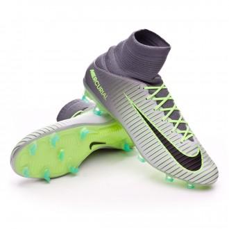 Bota  Nike Mercurial Veloce III FG Pure platinium-Black-Ghost green-Clear jade