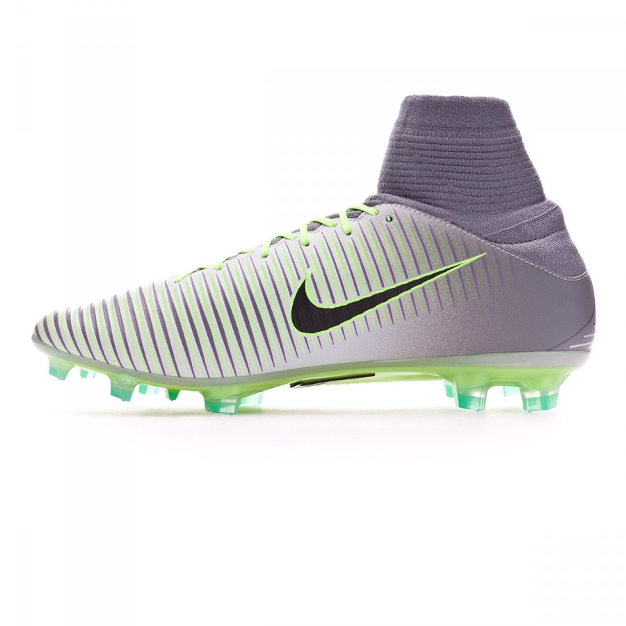 competitive price 93e44 2c104 Boot Nike Mercurial Veloce III Dynamic Fit FG Pure platinium-Black-Ghost  green-Clear jade - Football store Fútbol Emotion