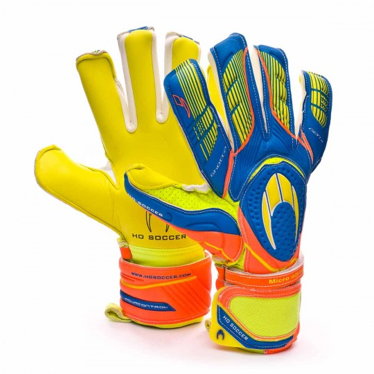 Guante  HO Soccer Ghotta Roll-Negative gen4 Yellow-Blue-Orange
