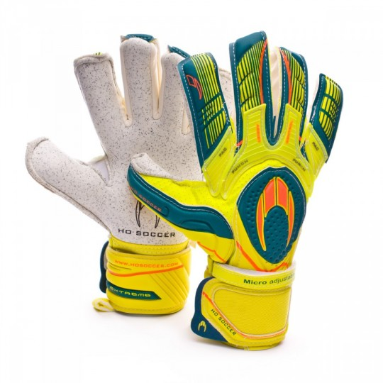 Guante  HO Soccer Ghotta Roll-Negative Pac Extreme gen4 Yellow-Green-Orange