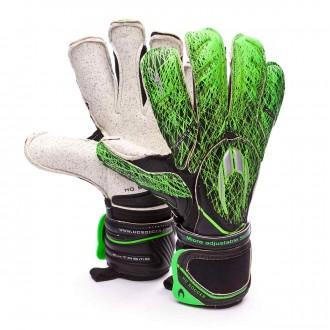 Guante  HO Soccer Ghotta Infinity Roll-Gecko Extreme gen4 Black-Green grass