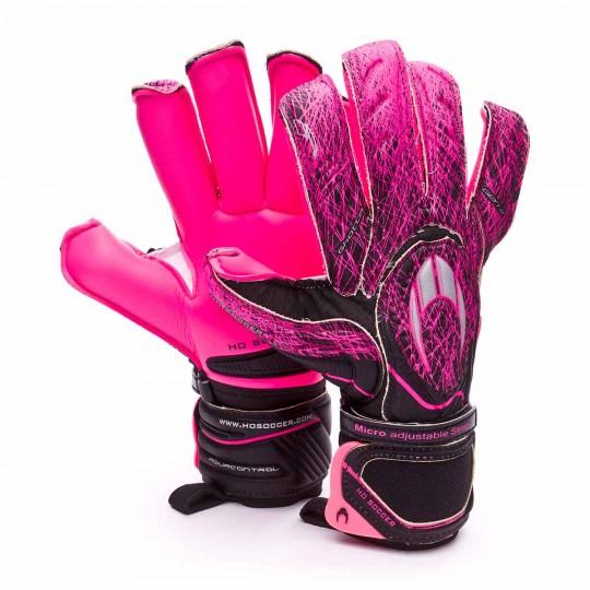 Guante  HO Soccer Ghotta Infinity Ergo Rollfinger gen4 Black-Pink