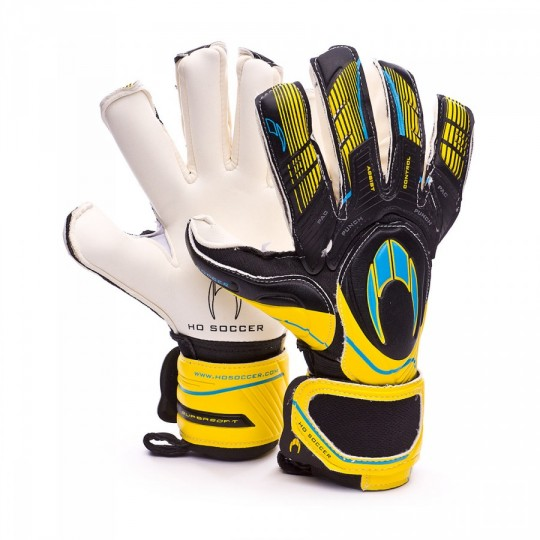 Luvas  HO Soccer SSG  Ghotta Roll-Negative Pac gen4 Black-Yellow-Ciano