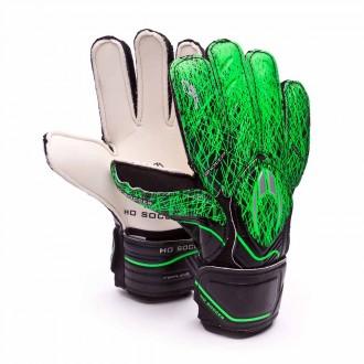 Luvas  HO Soccer Replica Ghotta Black-Green grass