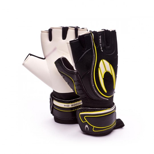 Guante  HO Soccer Futsal Black-White-Yellow