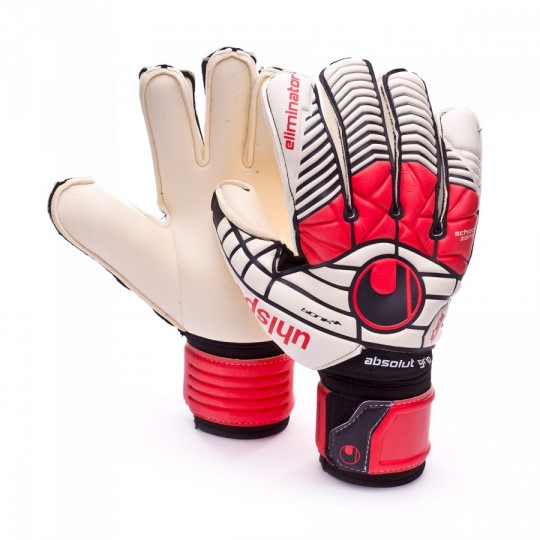 Luvas  Uhlsport Eliminator Absolutgrip Bionik+ Black-Red-White