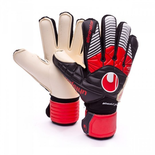 Guante  Uhlsport Eliminator Absolutgrip Black-Red-White