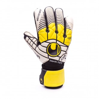 Guante  Uhlsport Eliminator Supersoft Bionik Black-Yellow-White