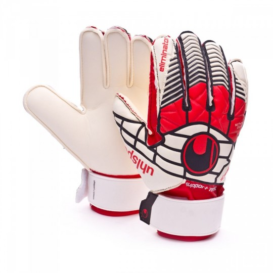 Guante  Uhlsport Eliminator Soft SF+ Niño White-Red-Black